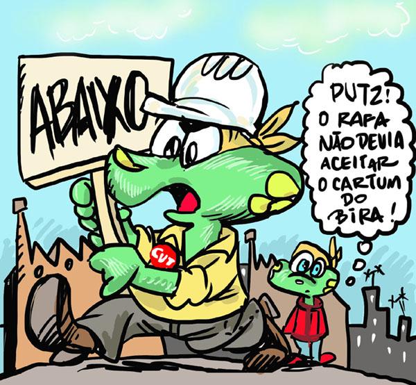 Bira Dantas, Esboçais, Sapo Brothers, Rafael Dourado, quadrinhos, humor, tiras, tirinhas, cartoon