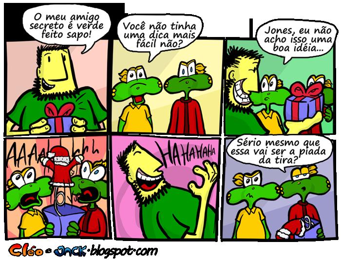 Jack da Cleo, Sapo Brothers, Rafael Dourado, quadrinhos, humor, tiras, tirinhas, cartoon