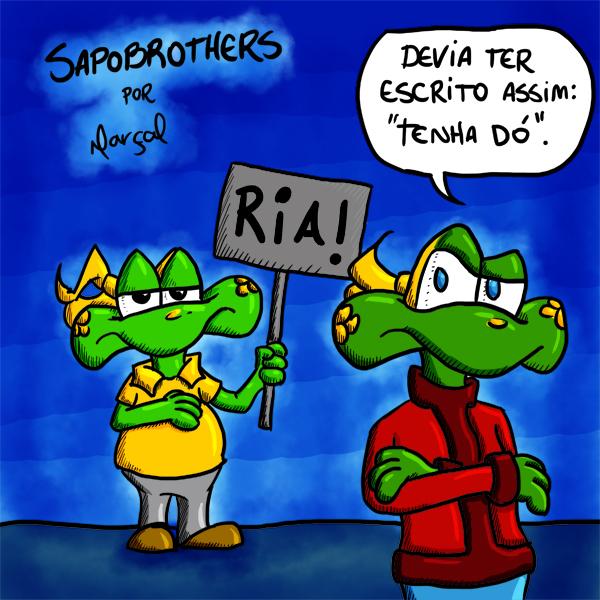 Rafael Marçal, Os Proféticos, Sapo Brothers, Rafael Dourado, quadrinhos, humor, tiras, tirinhas, cartoon