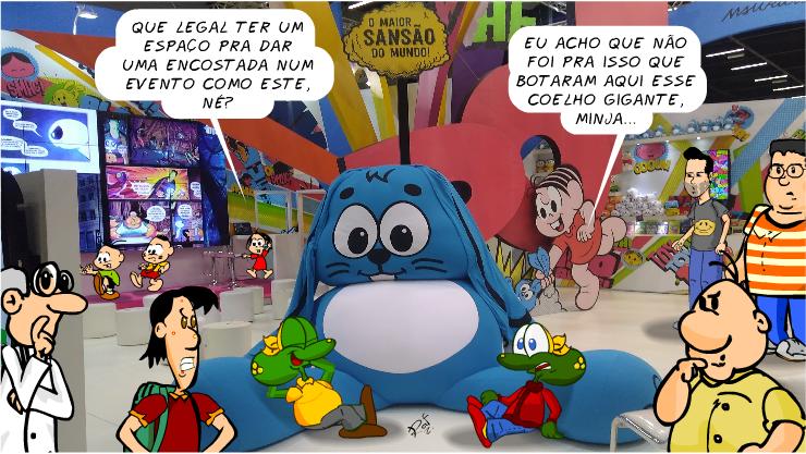 turma da Mônica, ccxp2017, piada, tiras, humor, HQ, quadrinhos, infantil