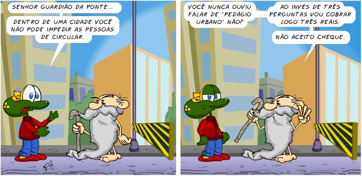 Sapo Brothers, tiras, humor, HQ, quadrinhos, infantil