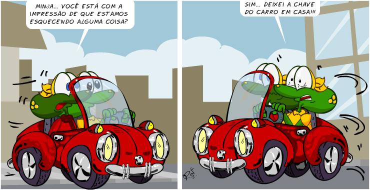 bicicleta, piada, tiras, humor, HQ, quadrinhos, infantil